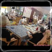 2013・8月デイサービスでのパステル和アートワークショップ☆