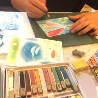 トキメキ*パステル和アート教室 / 描いて楽しい・眺めてハッピー♪
